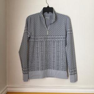 Atleta Gray pattern half zip